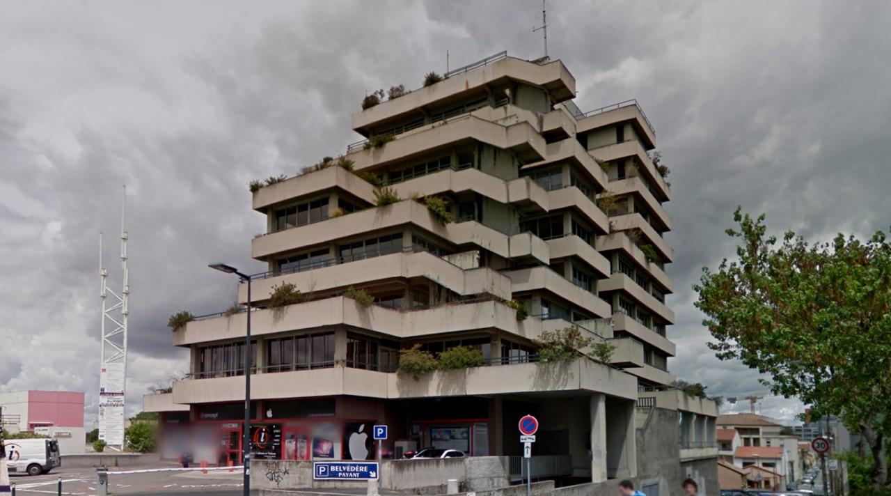 Le belv d re toulouse france by atelier des architectes for Architecte batiment de france toulouse