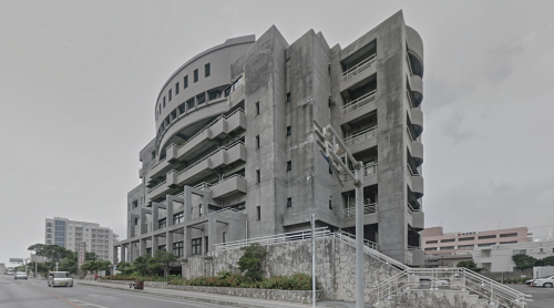 Miyakojima city hall (Miyakojima, Japan)