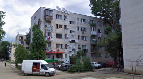 Building in Ferentari (Bucharest, Romania)