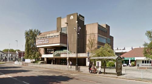 Lancastrian Hall & Central Library (Swinton, United Kingdom)