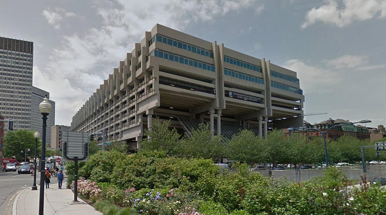 Government Center Garage Boston United States By Kallmann