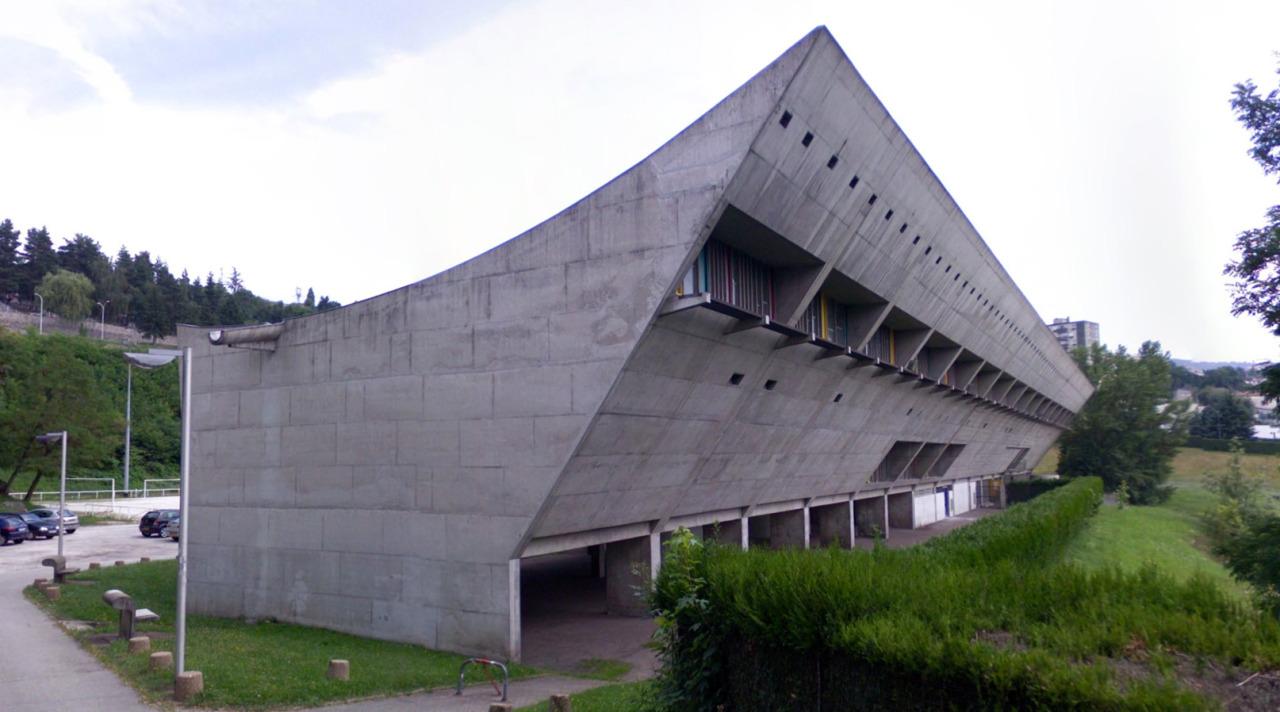 Maison De La Culture De Firminy Vert Firminy France By Le Corbusier Artstreetecture
