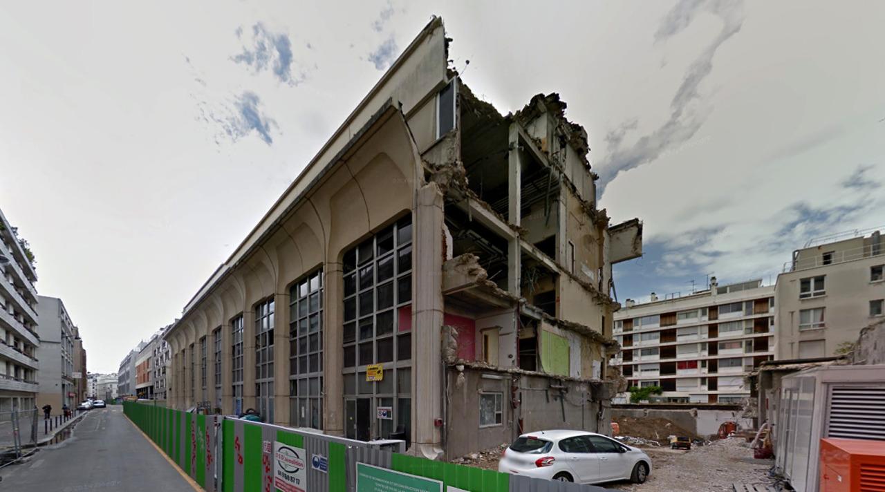 Bureau de poste paris 11 popincourt paris france artstreetecture
